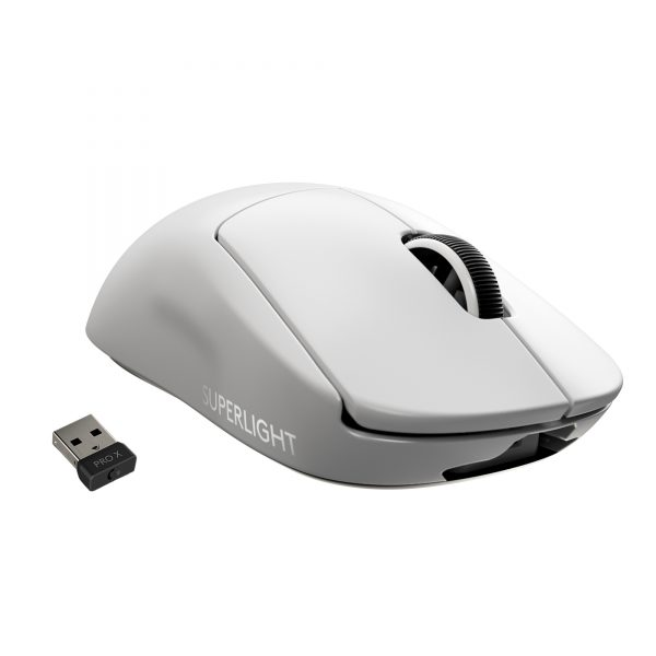 Logitech - PRO X SUPERLIGHT Wireless Gaming Mouse - WHITE