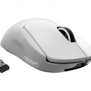 Logitech Pro X Superlight Wireless Gaming Mouse 25400dpi Hiiri Langaton Valkoinen