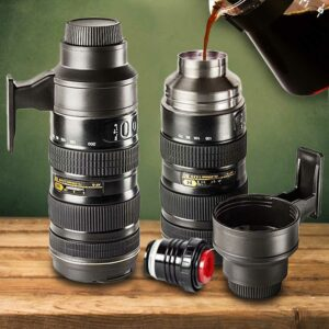 Camera Lens Thermos Can (02610)